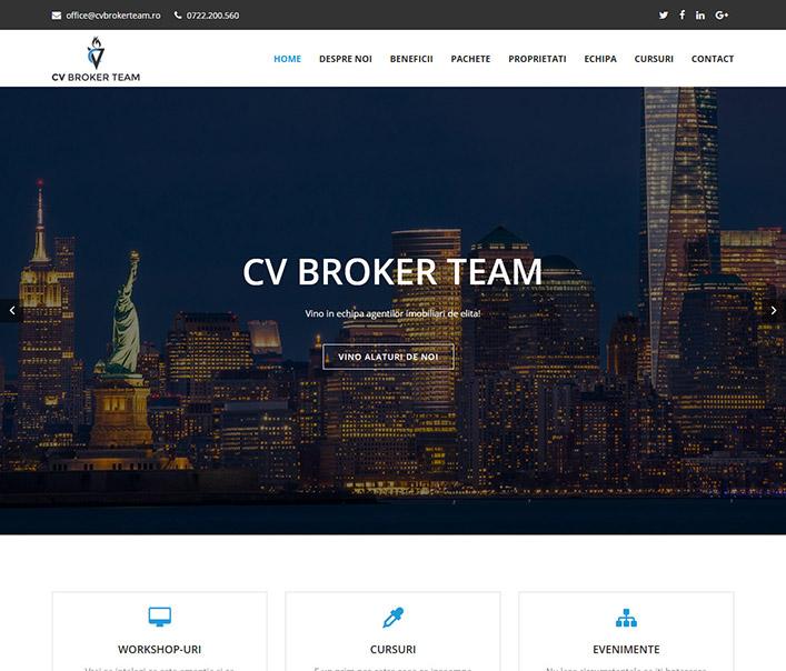 CV Broker team – agentie imobiliara Bucuresti
