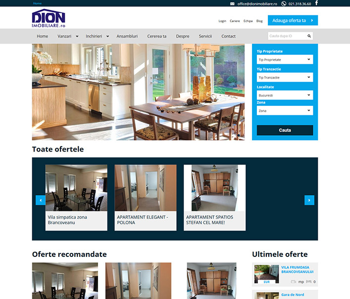 Dion Imobiliare - agentie imobiliara Bucuresti