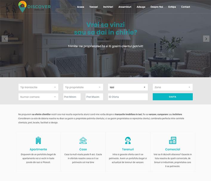 Discover imobiliare - agentie imobiliara Iasi