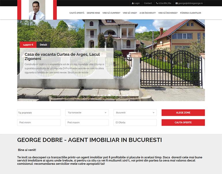 Dobre George - agent imobiliar Bucuresti