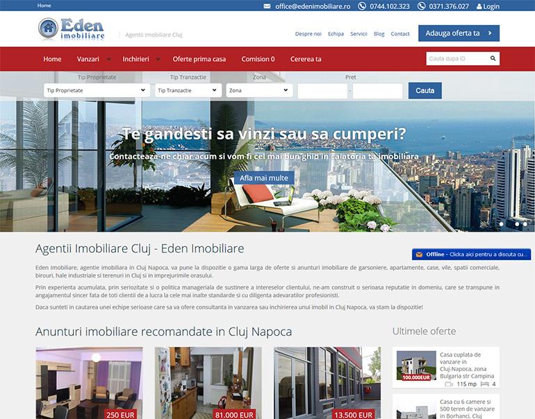 Eden Imobiliare - agentie imobiliara Cluj