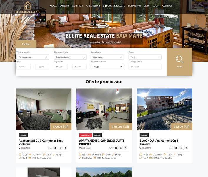 Ellite RealEstate - agentie imobiliara Baia Mare