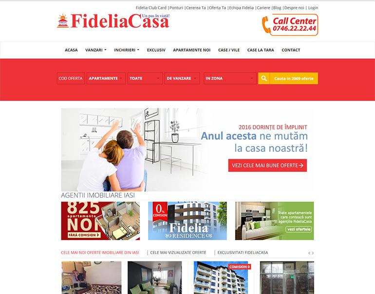 Fidelia Casa- agentie imobiliara Iasi