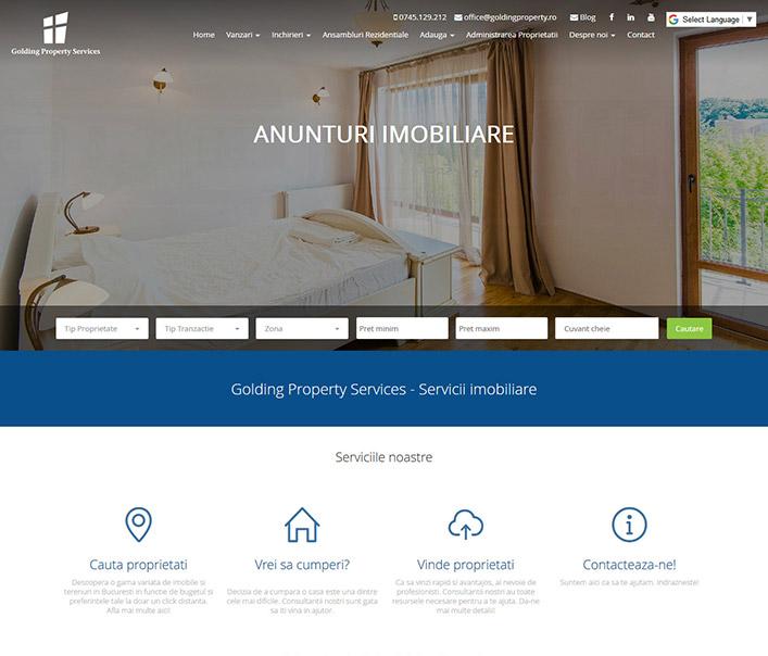 Golding Property – agentie imobiliara Bucuresti