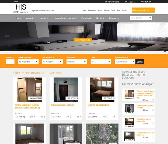 Home Solutions - agentie imobiliara Bucuresti