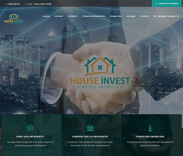 House Invest  - agentie imobiliara Sibiu