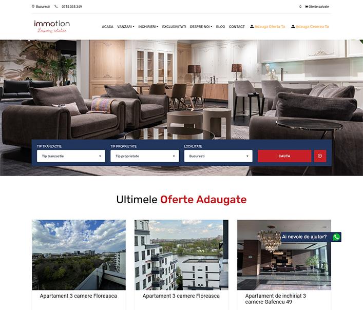 Immotion Luxury - agentie imobiliara Bucuresti