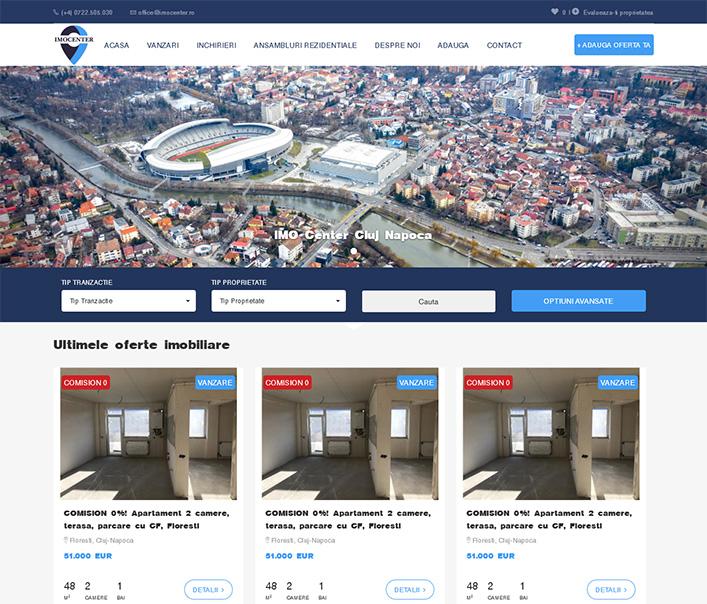 Imocenter - agentie imobiliara Cluj-Napoca
