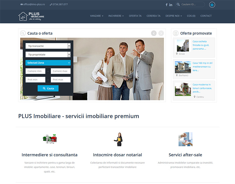 Imo Plus - agentie imobiliara Cluj