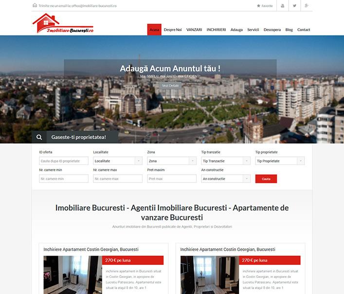 Imobiliare Bucuresti - agentie imobiliara Bucuresti