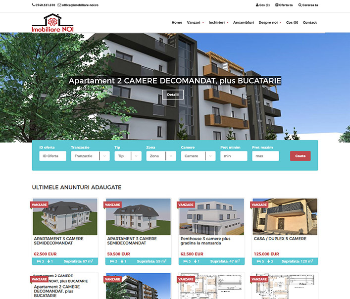 Imobiliare Noi - agentie imobiliara Cluj- Napoca