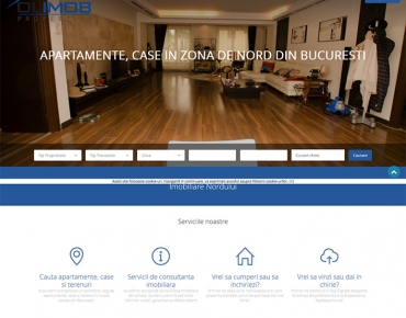 Website de nisa - apartamente si case in zona de N Bucuresti