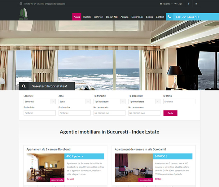 Index Estate - agentie imobiliara Bucuresti