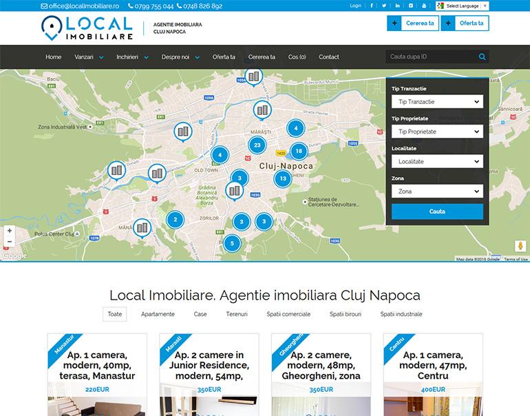 Local Imobiliare - agentie imobiliara Cluj