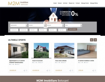 M2M Imobiliare - agentie imobiliara Botosani