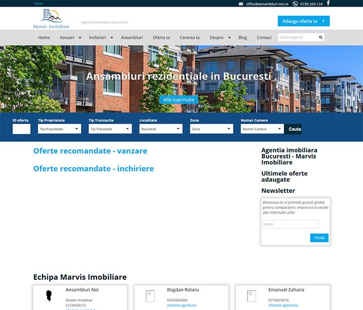 Marvis Rezidential - agentie imobiliara Bucuresti