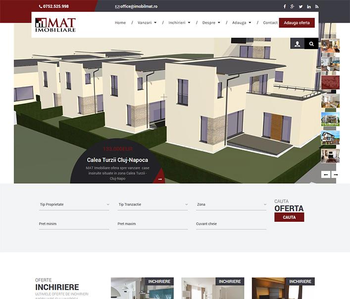 Mat Imobiliare - agentie imobiliara Cluj
