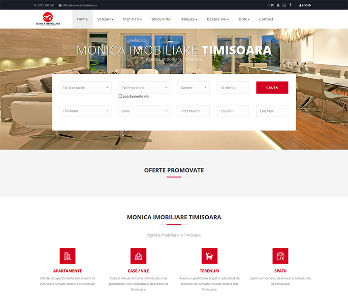 Monica Imobiliare - agentie imobiliara Timisoara