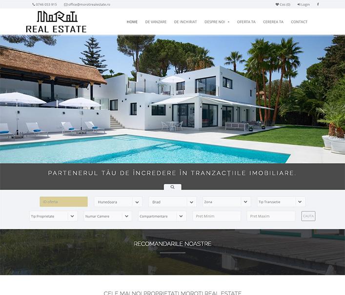 Moroti Real Estate - agentie imobiliara Brad