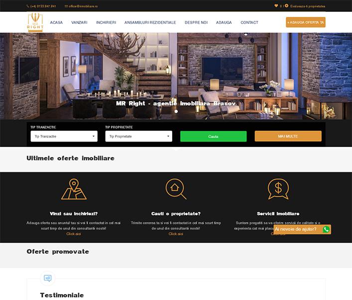 MR. Right - rimobiliare - agentie imobiliara Brasov