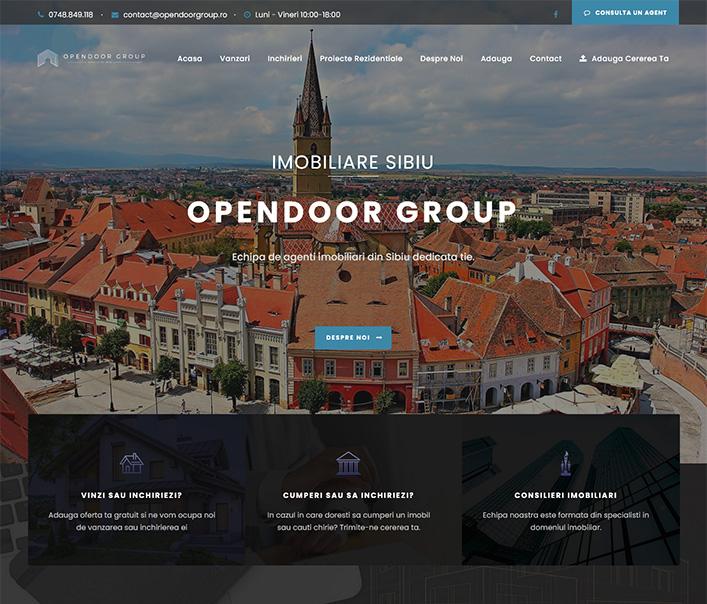 Opendoor Group - agentie imobiliara Sibiu