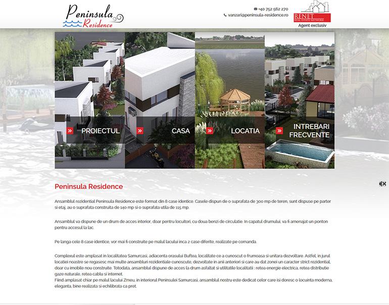 Peninsula Residence - dezvoltator imobiliar Bucuresti