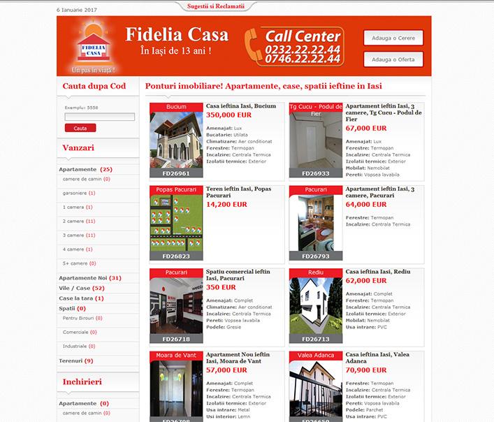 Website de nisa - ponturi imobiliare, apartamente, case si spatii ieftine Iasi