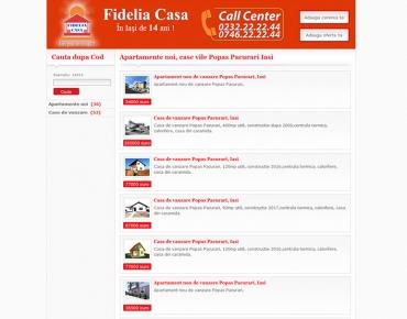 Website de nisa - apartamente 2 camere de vanzare si de inchiriat Iasi
