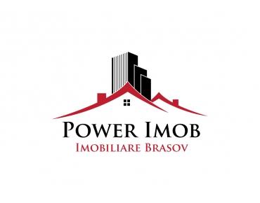 Design logo agentie Imobiliara - Power Imob - Brasov
