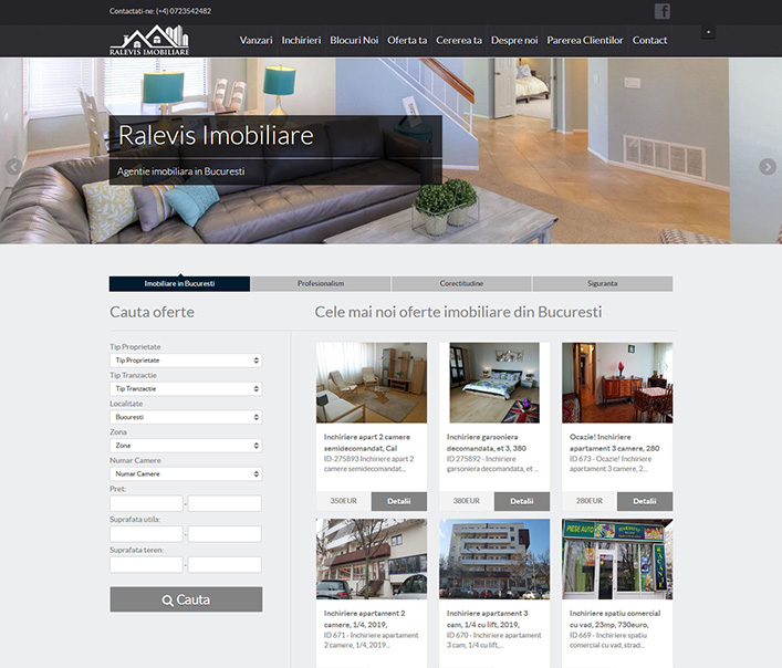 Ralevis Imobiliare - agentie imobiliara Bucuresti