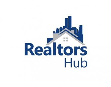 Design logo agentie imobiliara - Realtors Hub - Bucuresti