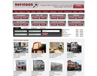 Refinder - agentie imobiliara Bucuresti