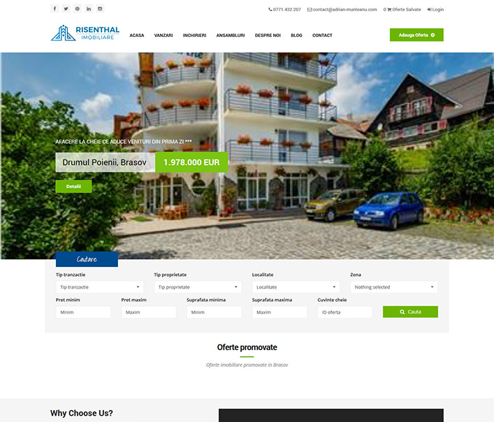 Risenthal Imobiliare - agentie imobiliara Brasov