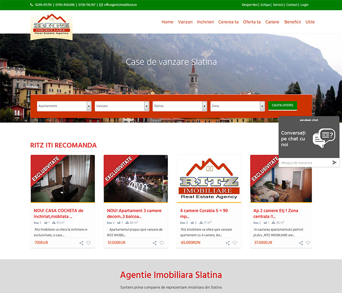 Ritz Imobiliare - agentie imobiliara Slatina