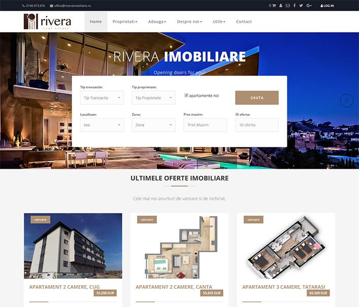Rivera Real Estate - agentie imobiliara Iasi