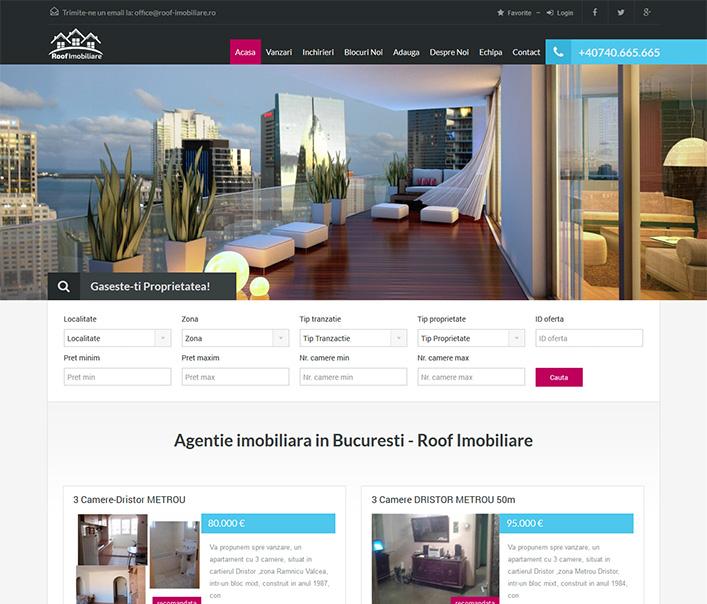 Roof Imobiliare - agentie imobiliara Bucuresti