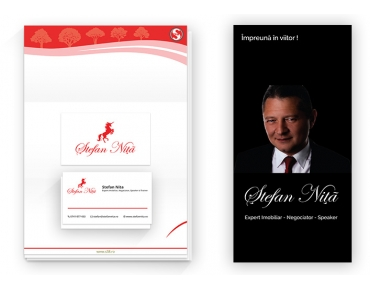 Design identitate vizuala agentie imobiliara - S38 - Bucuresti