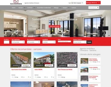 Sandres Imobiliare - agentie imobiliara Timisoara