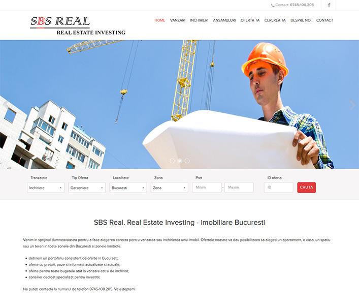 SBS Real - agentie imobiliara Bucuresti