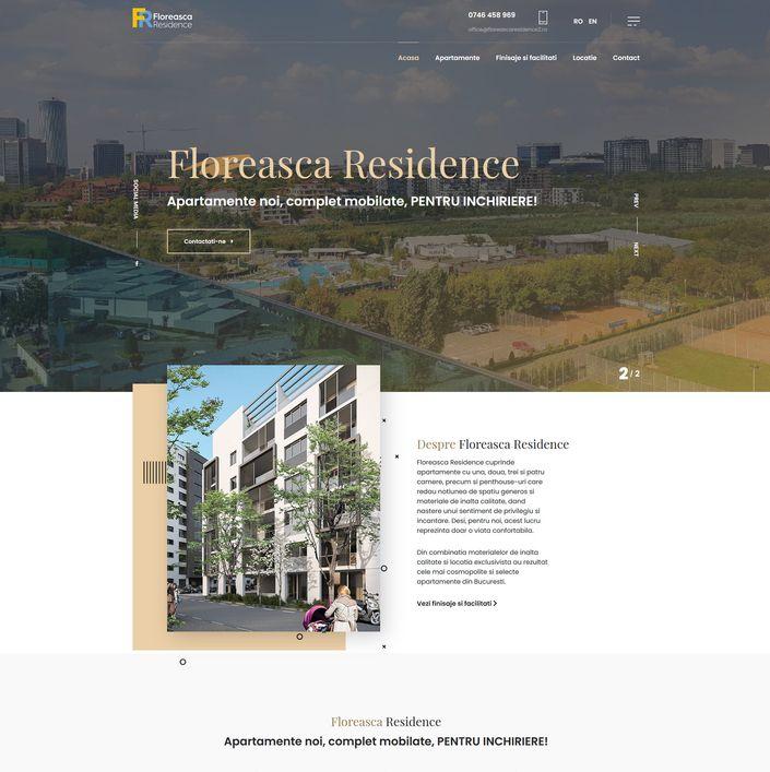 Floreasca Residence - dezvoltator imobiliar Bucuresti
