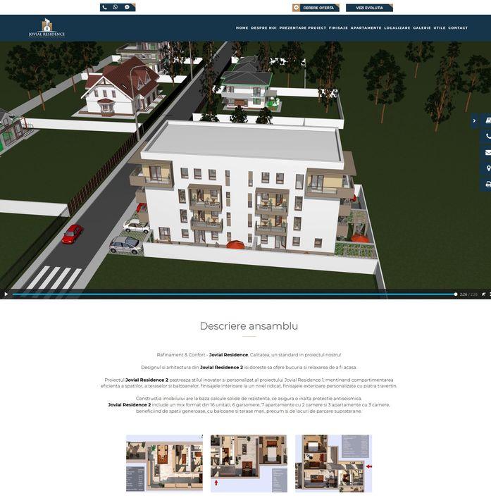 Jovial Residence - dezvoltator imobiliar Bucuresti