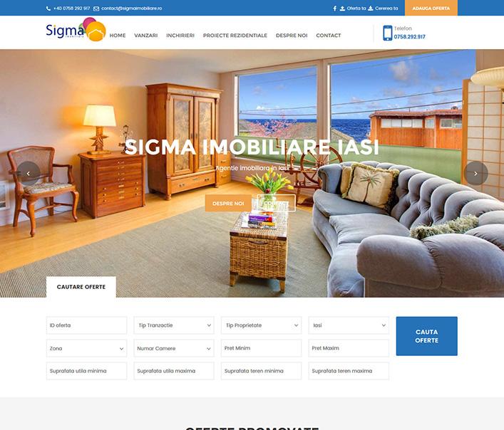Sigma Imobiliare - agentie imobiliara Iasi