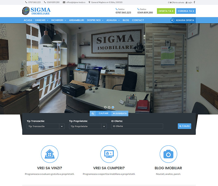 Sigma Imobiliare - agentie imobiliara Sibiu