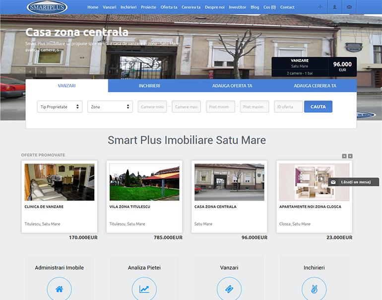 Smart Plus - agentie imobiliara Satu Mare