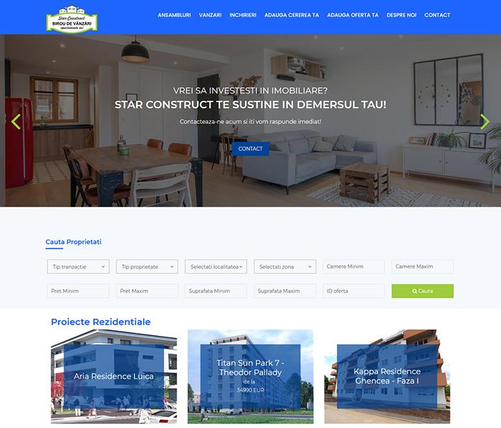 Star Construct - agentie imobiliara Bucuresti