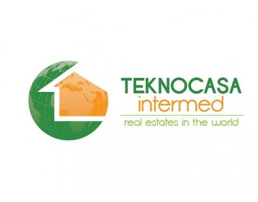 Design logo agentie imobiliara - Teknocasa - Sibiu