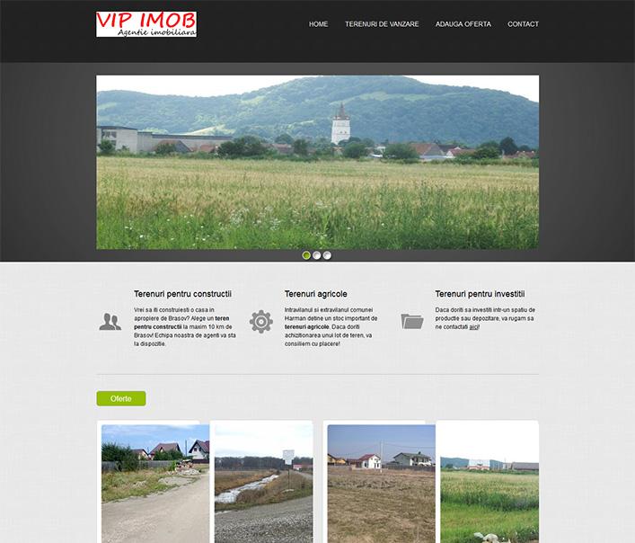 Website de nisa - terenuri de vanzare in Harman Brasov