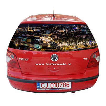 Design colantare masina agentie imobiliara - Toate Casele - Cluj