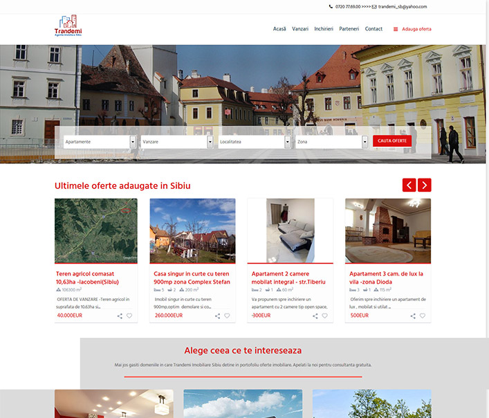 Trandemi - agentie imobiliara Sibiu