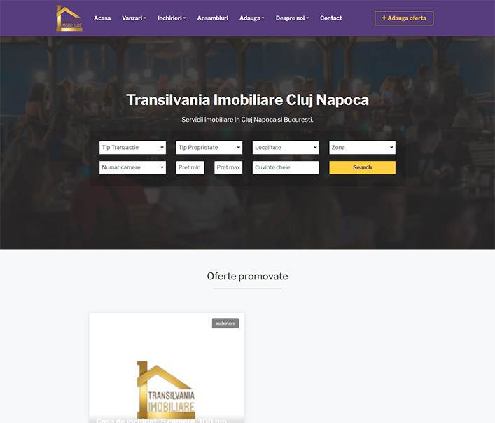 Transilvania Imobiliare - agentie imobiliara Cluj Napoca